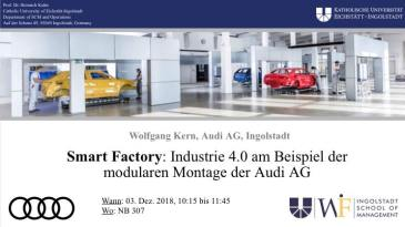 Vortrag - Smart Factory - Audi